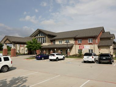 The Oxford Grand Assisted Living center in McKinney, TX, on Apr. 22, 2020. (Jason Janik/Special Contributor)