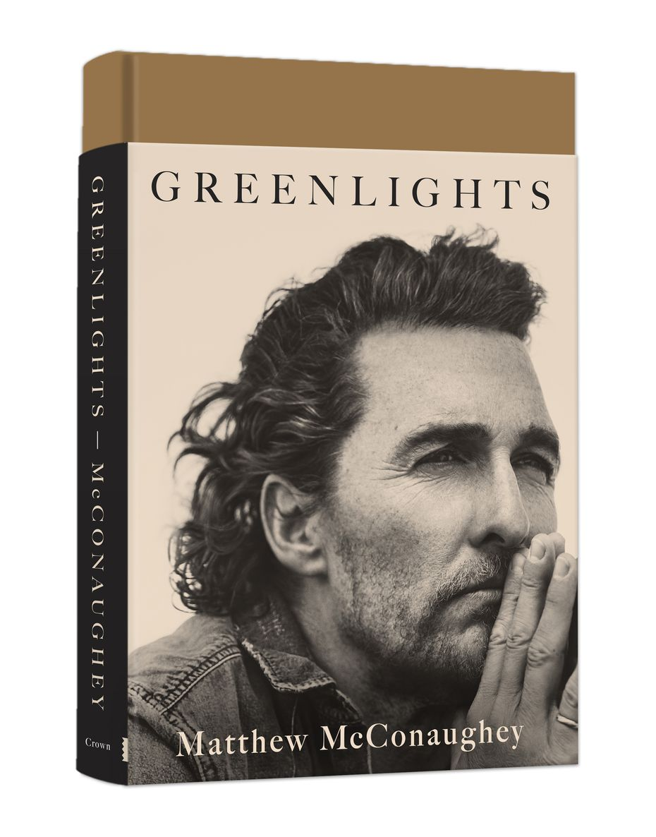 """Greenlights"" by Matthew McConaughey."
