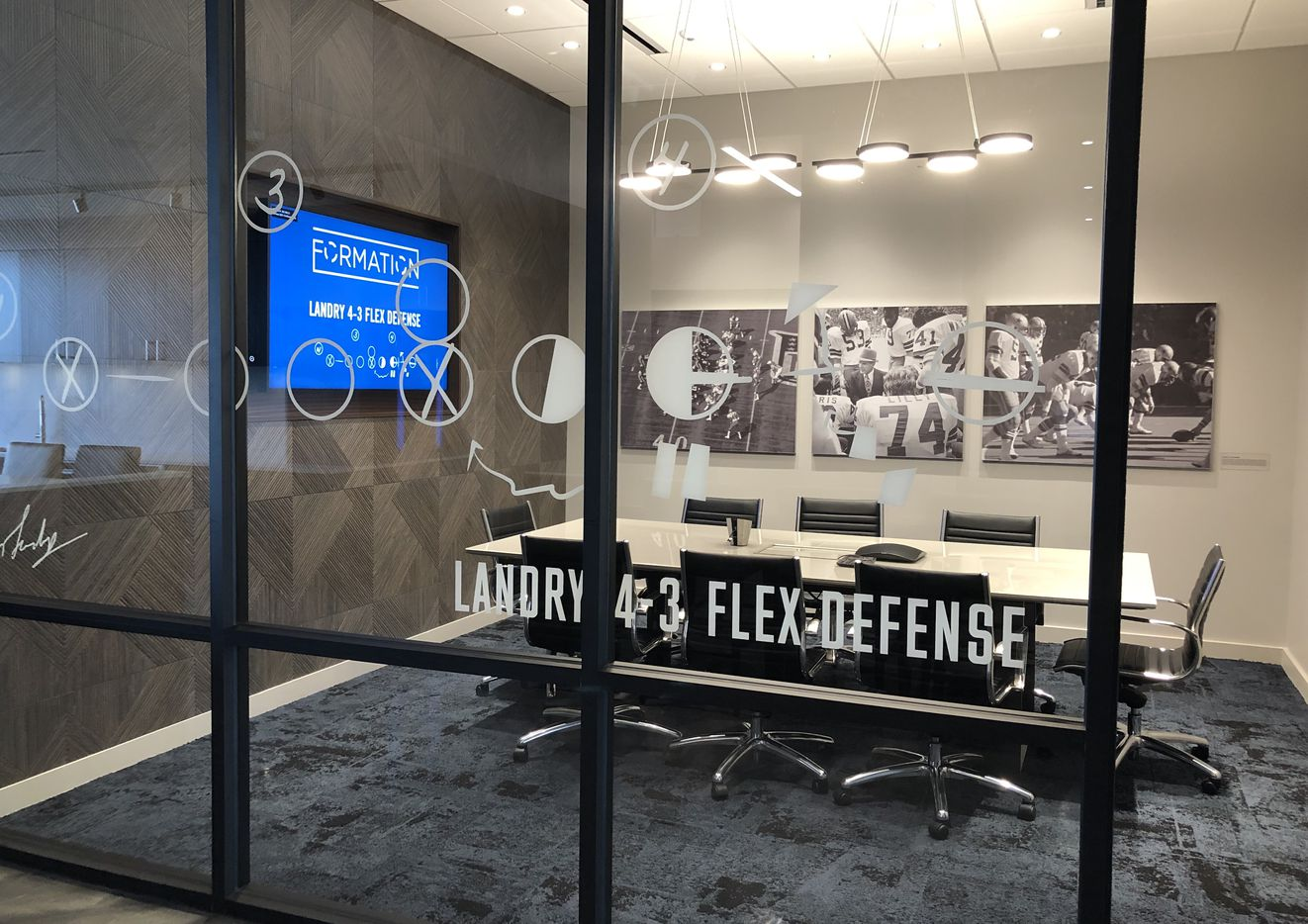 The Dallas Cowboys' new Formation coworking center is opening in Frisco.