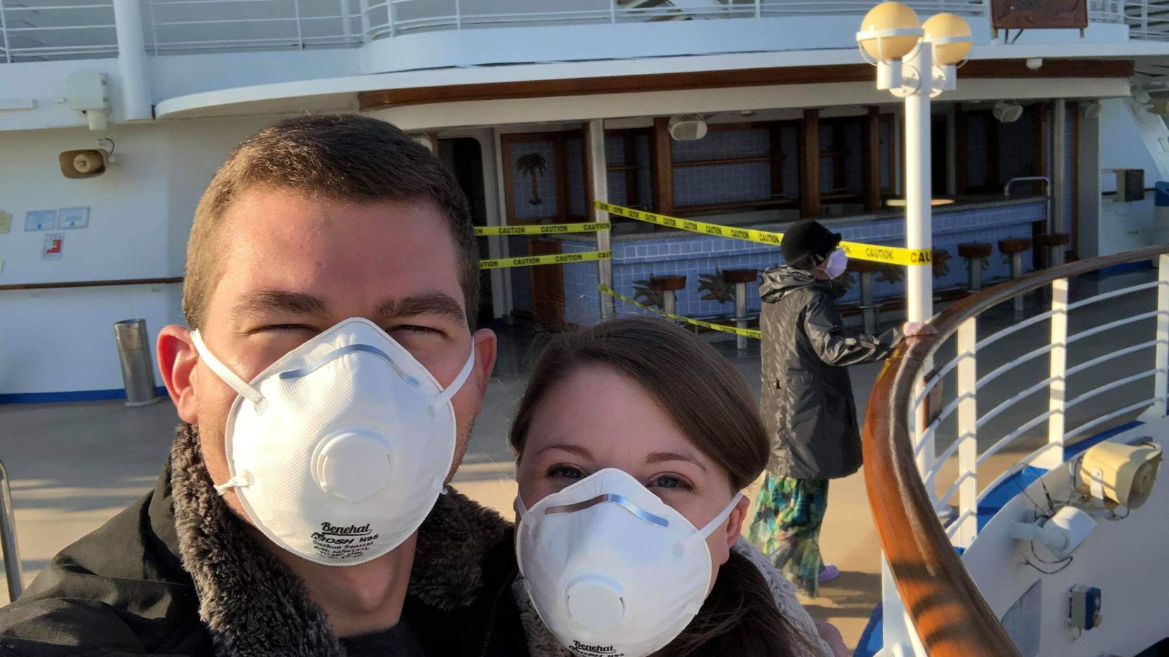 Rachel Torres and her husband, Tyler Torres, were quarantined on their honeymoon on the Diamond Princess cruise ship.