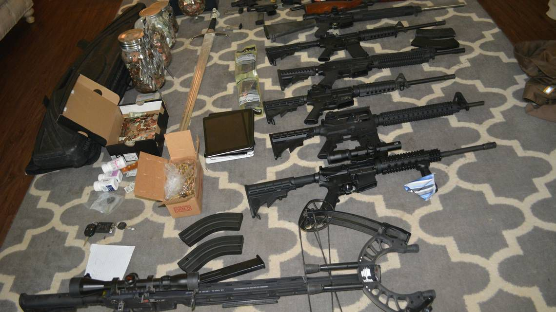 Denton authorities seized more than $1.5 million in drugs, cash, weapons and stolen items Aug. 2.