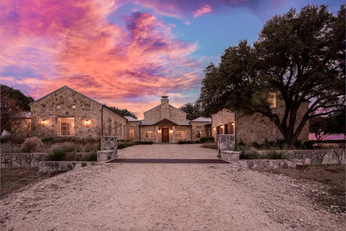 Rocosa Ridge Ranch includes a new main house and historic buildings.