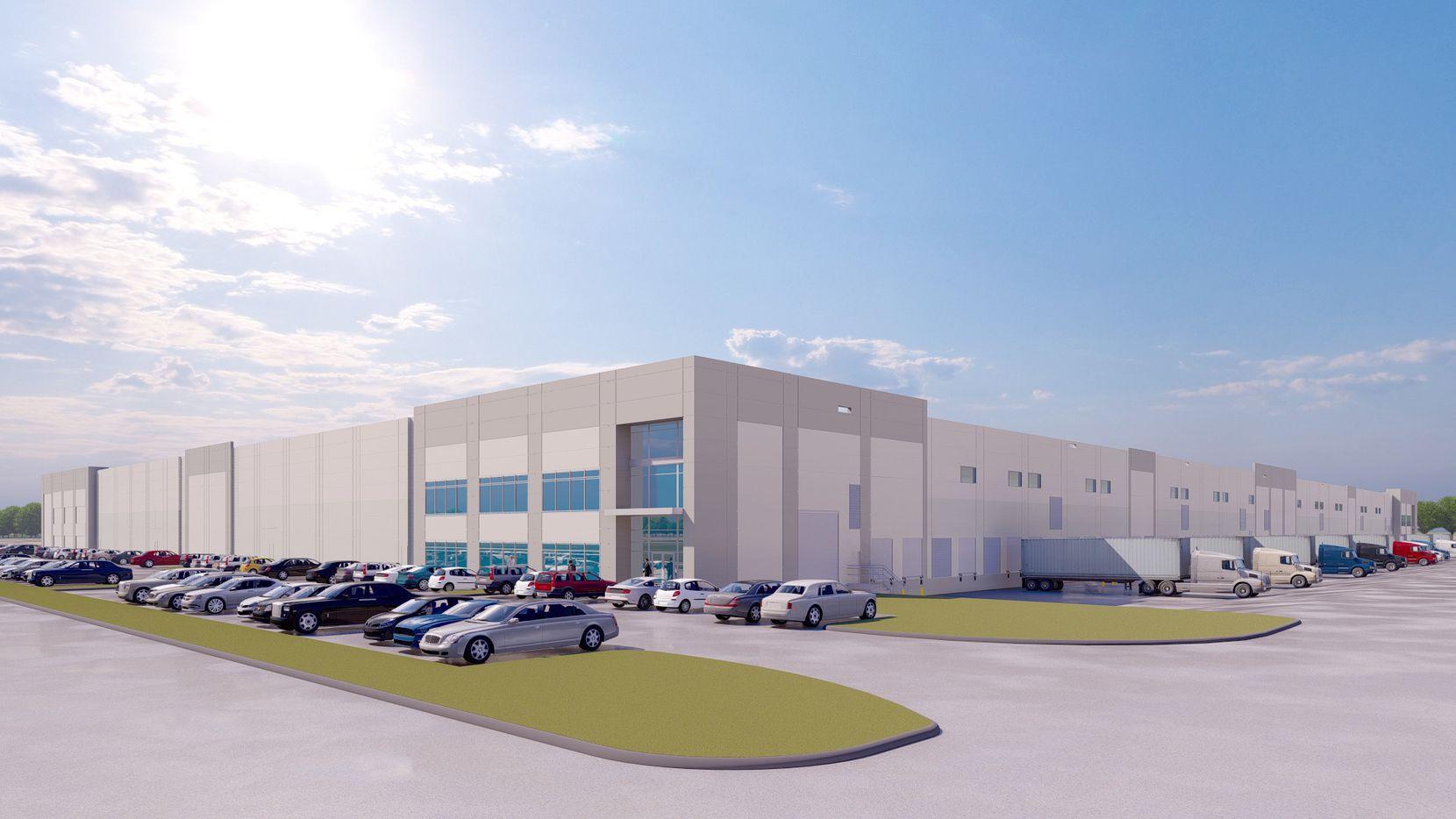 Duke Realty is building the Yokohama Tire shipping center in Wilmer.