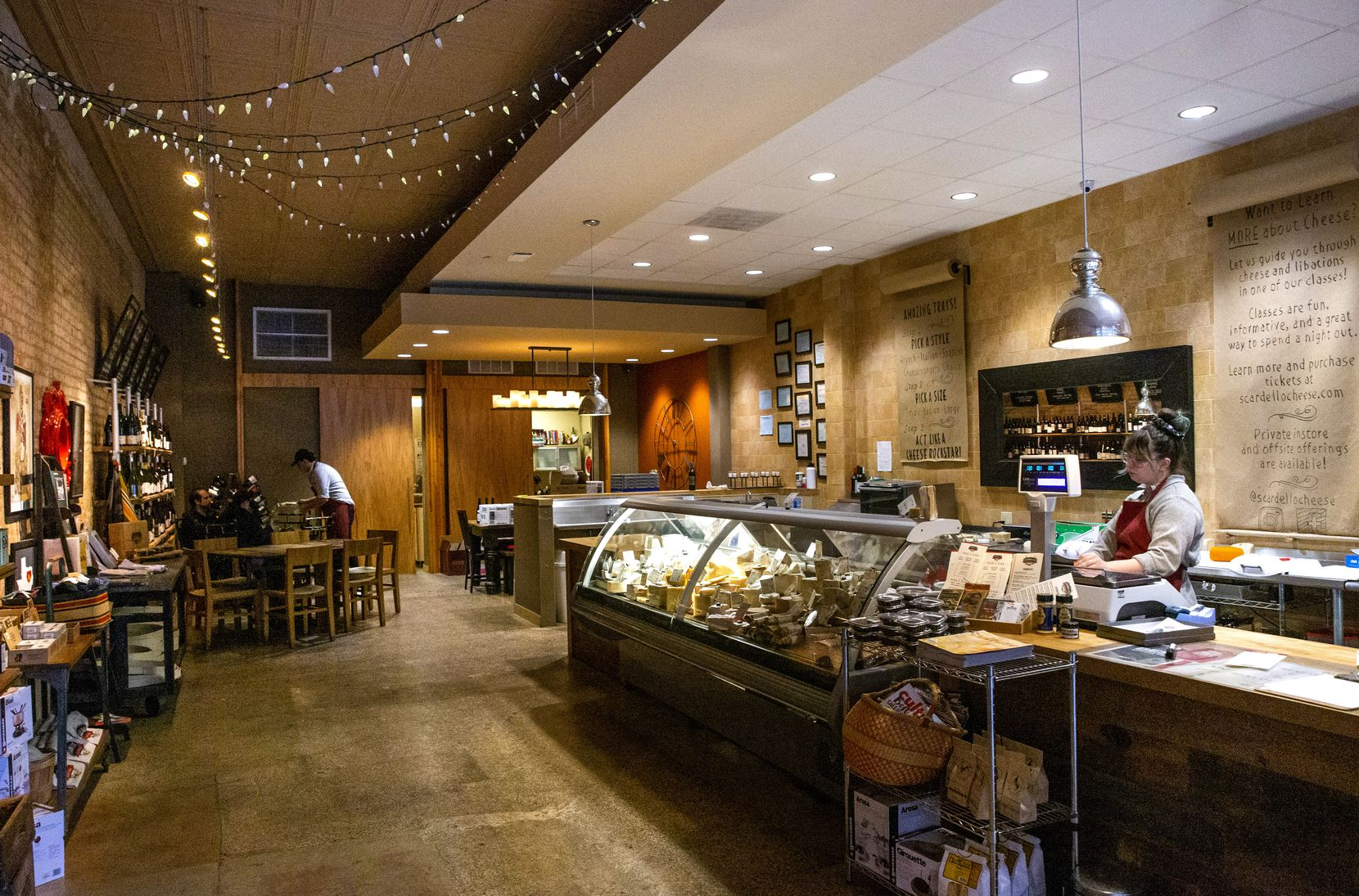 Scardello owner Rich Rogers said a recent tariff on European goods will affect a wide range of cheese, along with some French wine, Italian prosciutto and olive oil.