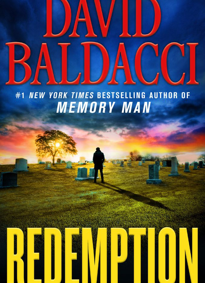Protagonist Amos Decker revisits an old murder case in David Baldacci's new novel, Redemption.