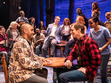 The North American tour of the Broadway musical 'Come From Away' is now suspended in Dallas, because of a county order banning gatherings of more than 500 people, issued Thursday night.