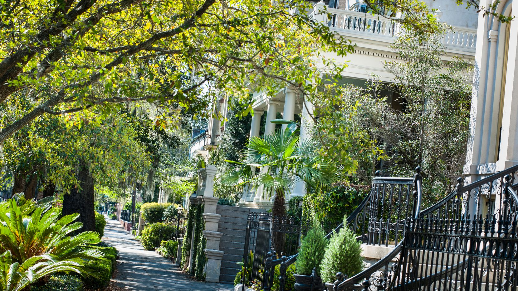 The Savannah Historic District has ample Southern charm.