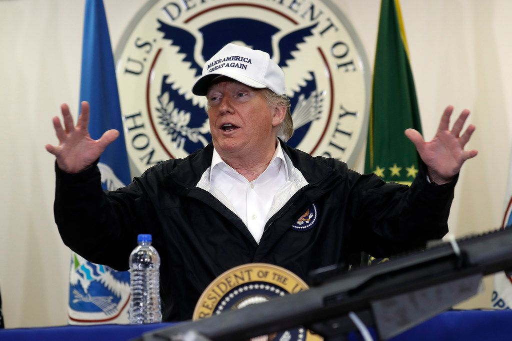 President Donald Trump spoke at a roundtable on immigration and border security in McAllen during his visit to the southern border last week.