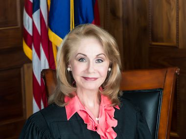 Texas Supreme Court Justice Debra Lehrmann has tested positive for the novel coronavirus, becoming the first high-ranking state official with a known case of COVID-19. Lehrmann and her husband, Greg, suffered fevers and body aches early last week before getting swabbed at an Austin drive-through testing center, she said Thursday. (2014 File Photo)