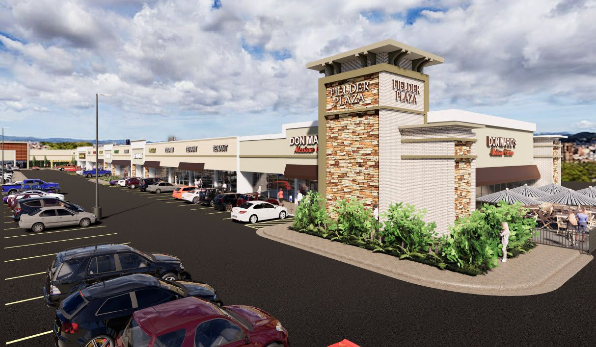The Fielder Plaza shopping center opened in 1978 and is getting a redo