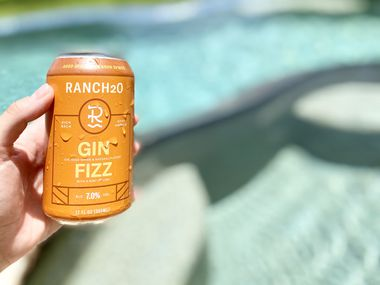 Dallas-based RancH2O launches new Gin Fizz canned cocktail.