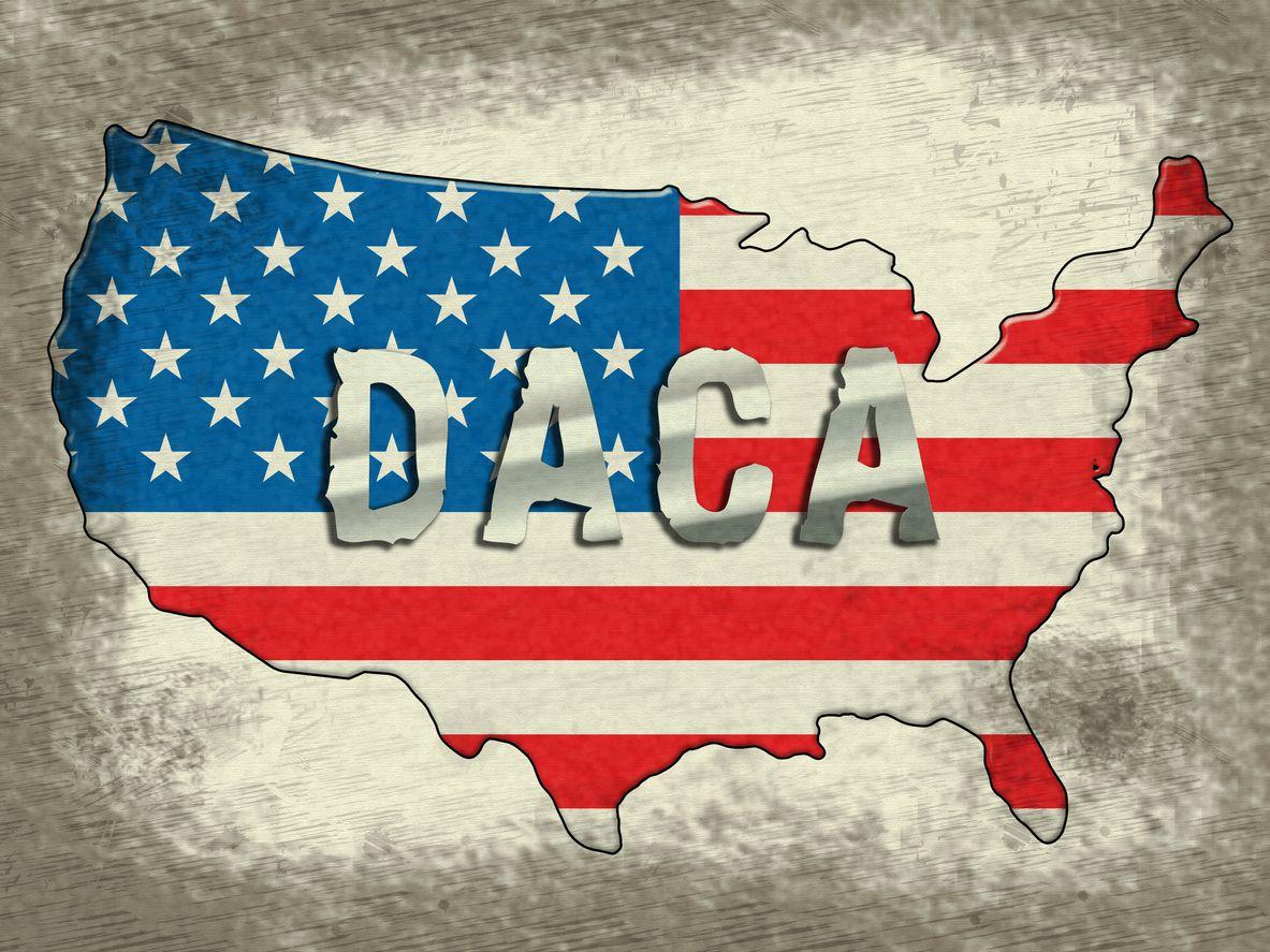 Campaña de Acción Diferida para los Llegados en la Infancia (DACA).