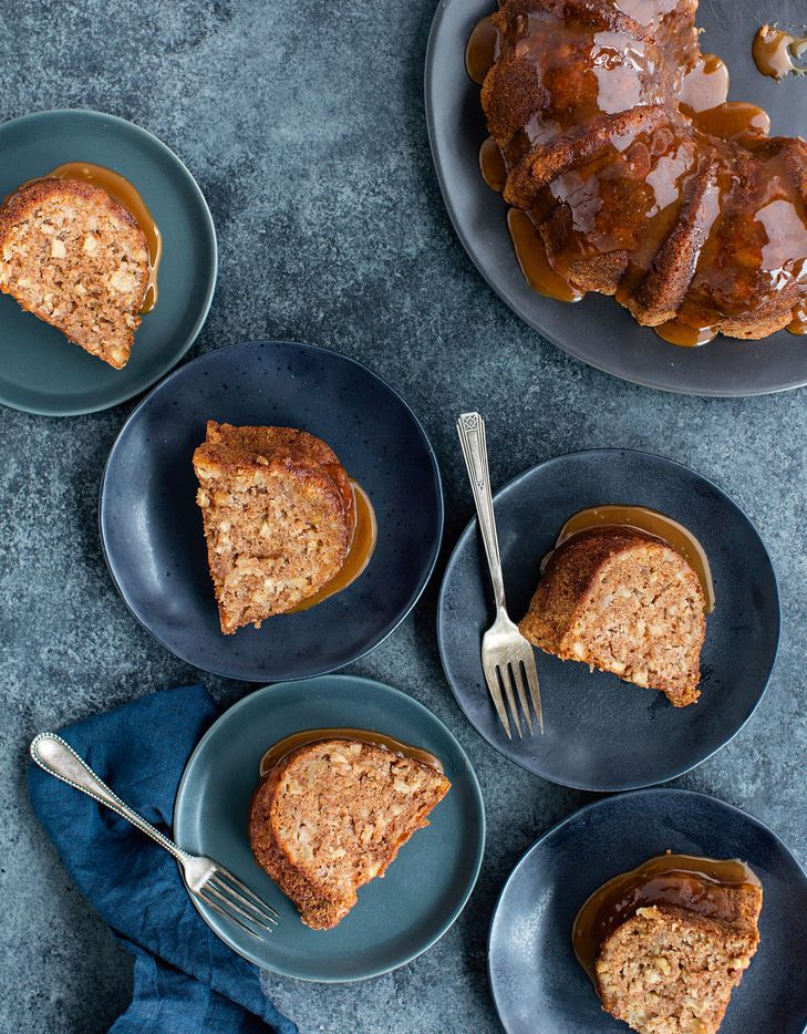 Apple Walnut Bundt Cake from Rose's Baking Basics ($35, Houghton Mifflin Harcourt)