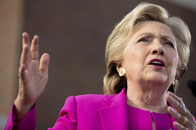 La candidata demócrata Hillary Clinton. (AP)