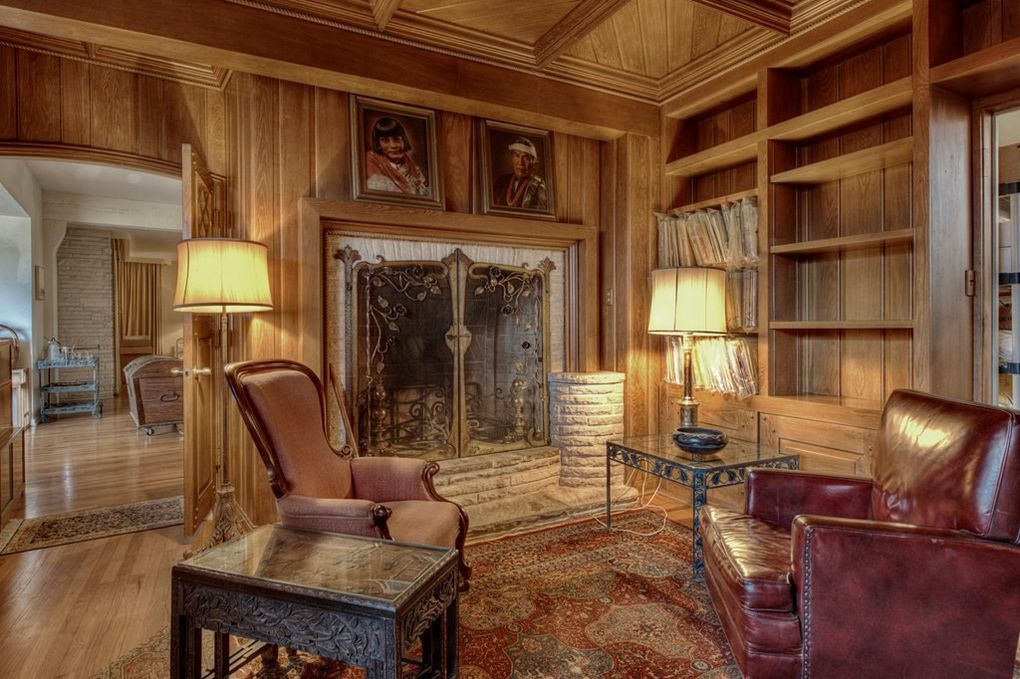The interiors of the Naylor Ranch were designed by Bullock's department store in Los Angeles.