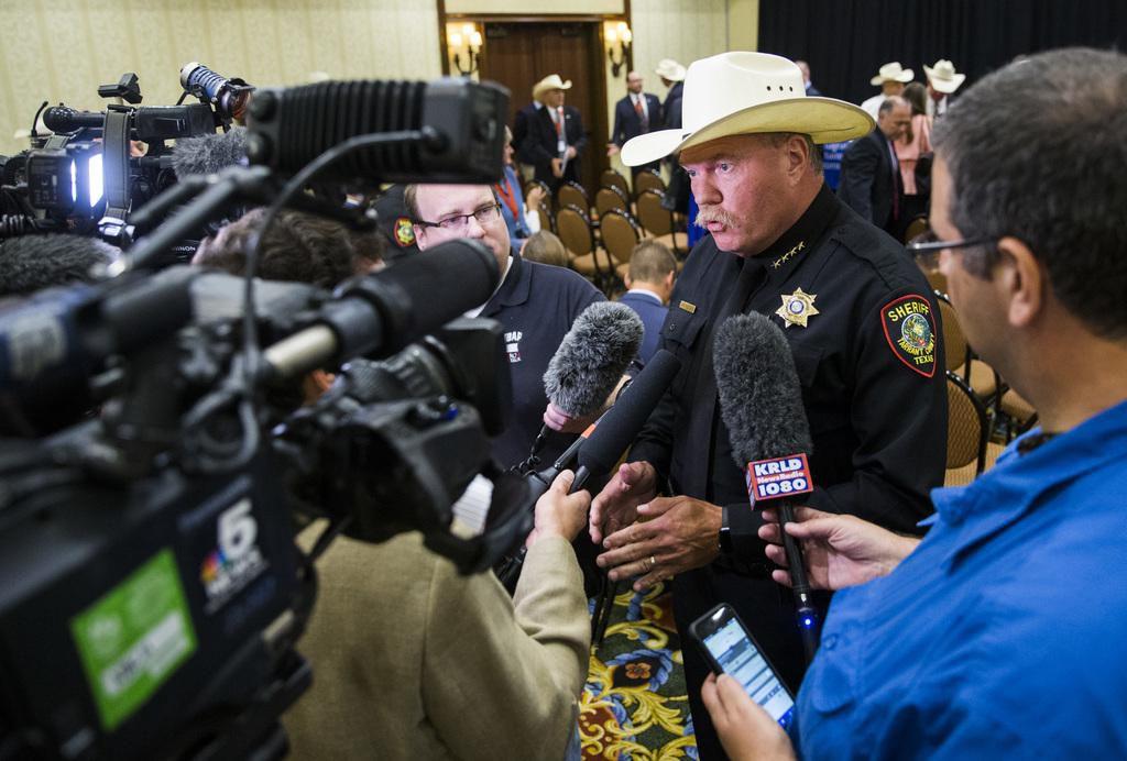 El sheriff Bill Waybourn es partidario de renovar el programa 287(g) que muchos consideran costos y que al provocar miedo en la comunidad causa más daño que beneficios. (DMN/ASHLEY LANDIS)