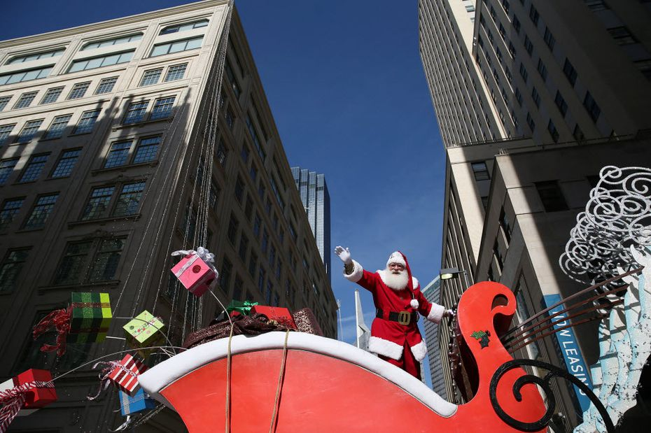 The Children's Health Holiday Parade, pictured here in 2015, has been renamed Dallas Holiday Parade. It's in jeopardy of being canceled if it doesn't get major funding.