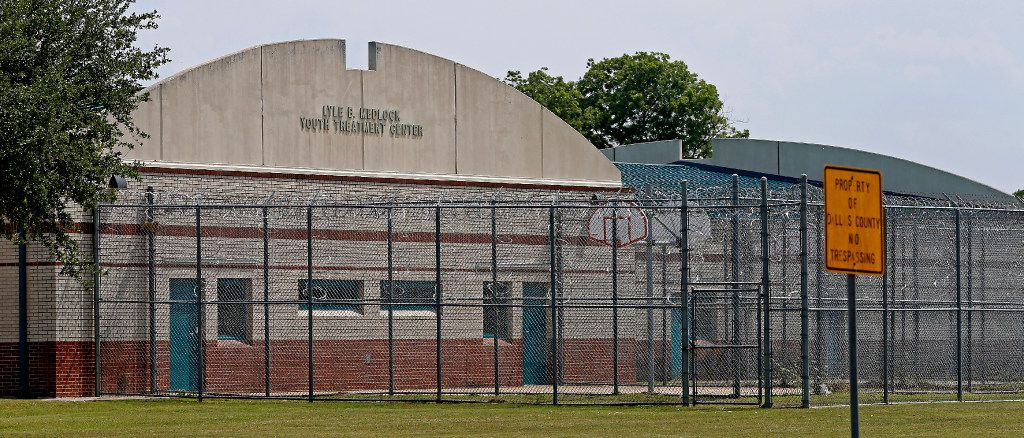 The Lyle B. Medlock Youth Treatment Center in Dallas. (Jae S. Lee/Staff Photographer)