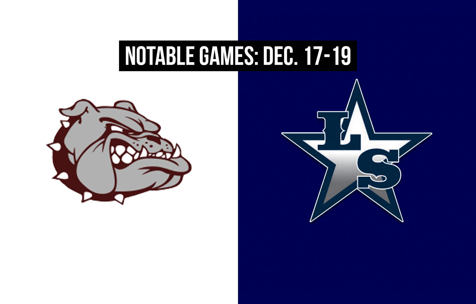 Notable games for the week of Dec. 17-19 of the 2020 season: Magnolia vs. Frisco Lone Star.