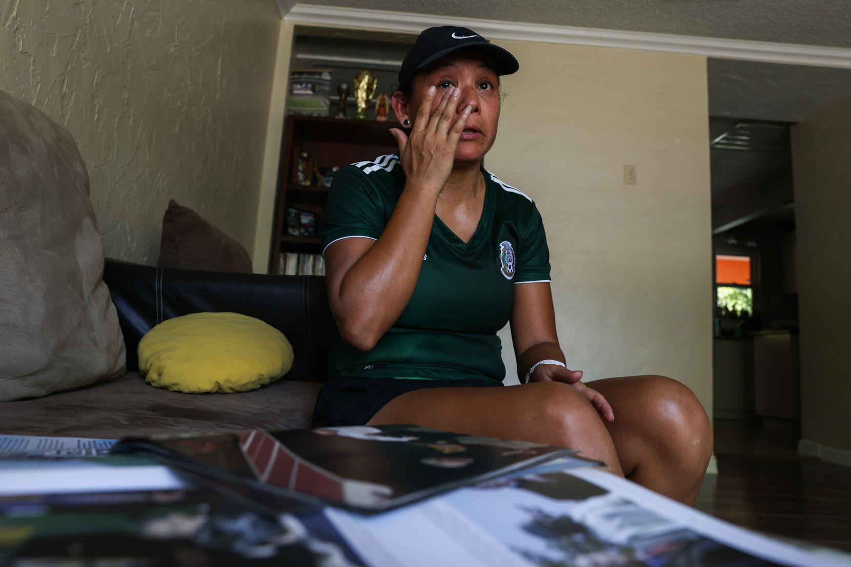 Julieta Montemayor aún se emociona cuando recuerda los ataques del 9/11.