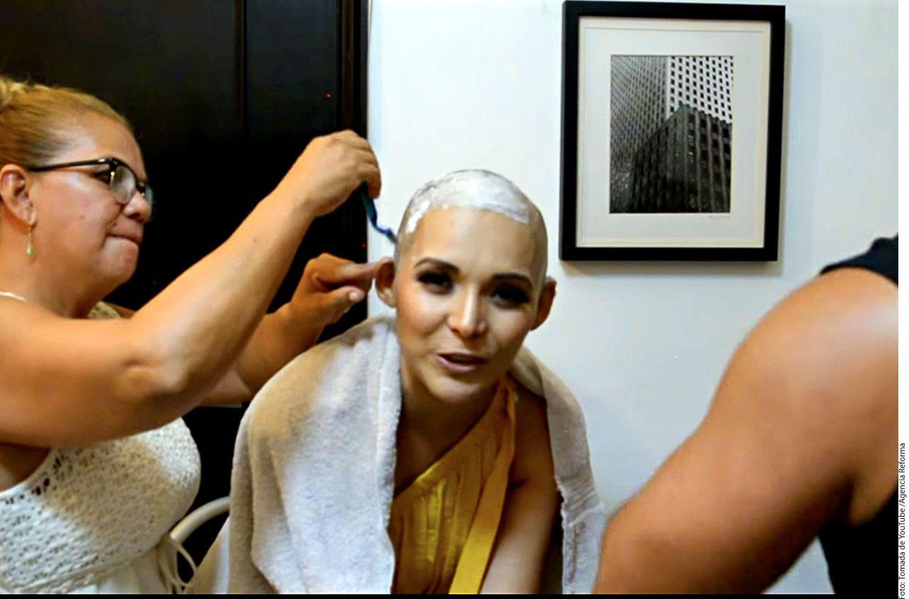 """La ahora cantante de banda Karla Luna, quien presentó el tema """"La Muchachona"""", informó que en septiembre le detectaron nuevamente esta enfermedad./ AGENCIA REFORMA"""