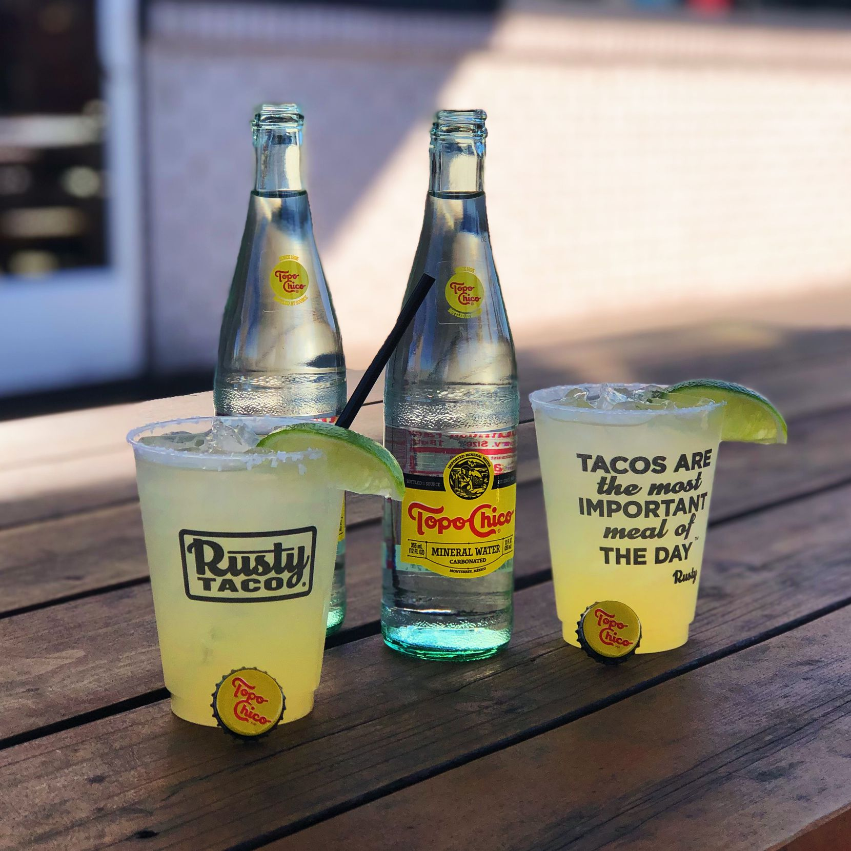 Rusty Taco will serve top-shelf Topo-Ritas on Feb. 21-23, 2020, in celebration of National Margarita Day.