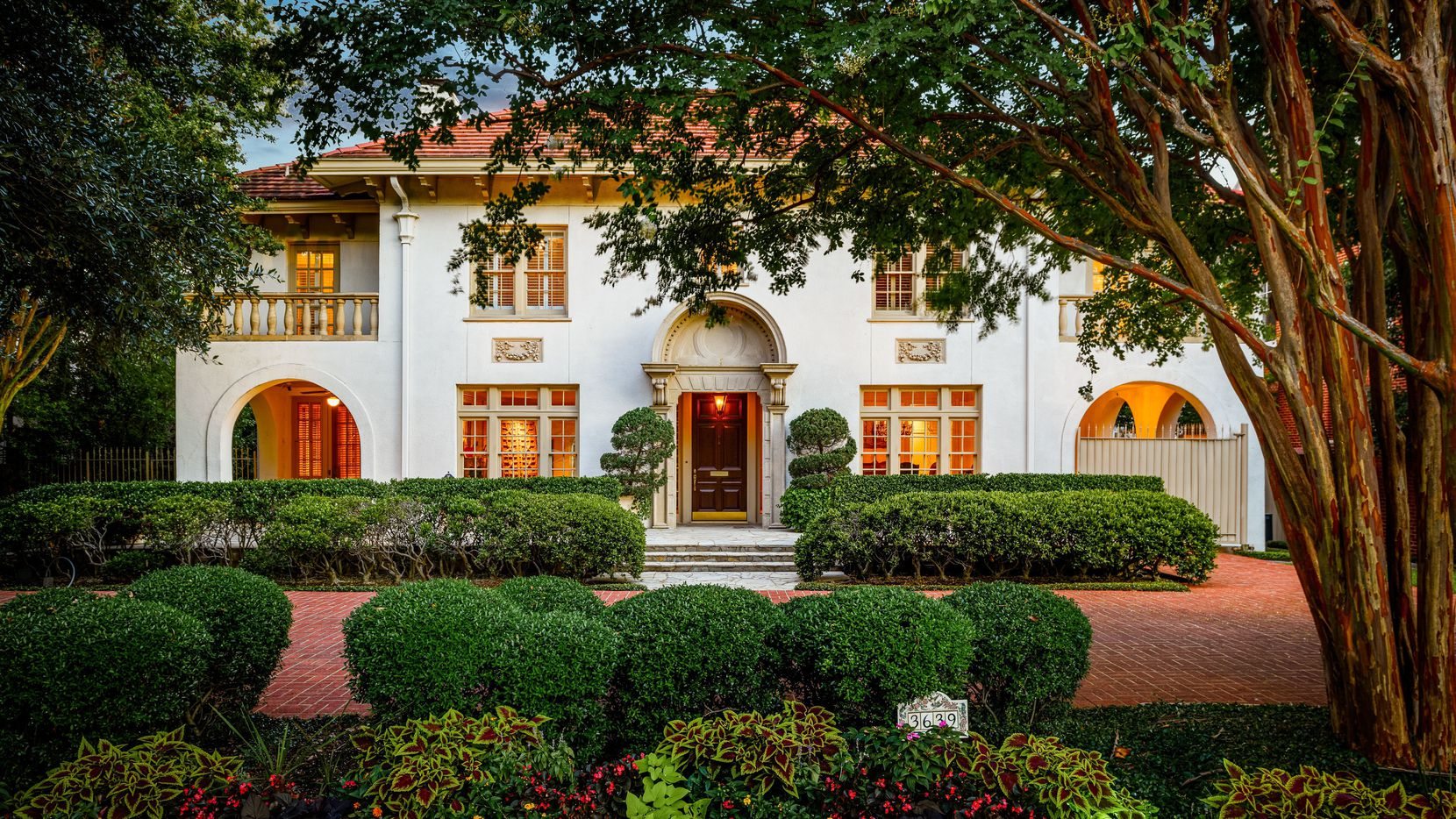 Situated on the country club tract of Highland Park and on highly-coveted 3639 Beverly Drive, this 1920s family home boasts Spanish architectural and design elements well preserved for nearly 100 years. It's listed for sale for $5,495,000.