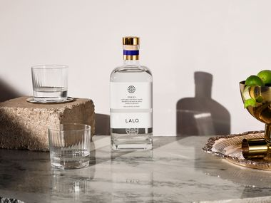LALO is a blanco tequila made of 100 percent agave with no additives. It's distilled in the Jaliscan Highlands of Mexico.