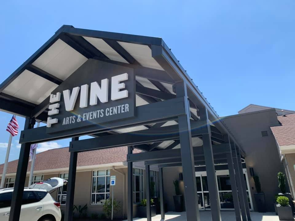 The Vine Arts & Events Center reopened in late April with $750,000 in upgrades.