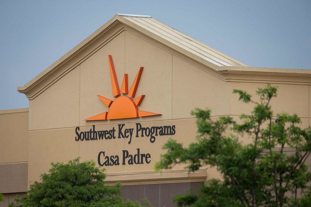 Casa Padre, in a former Walmart in Brownsville, is one of several facilities in Texas where the nonprofit Southwest Key houses children removed from their parents after crossing the border illegally.