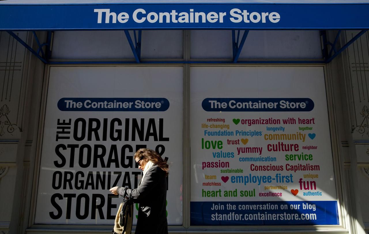 Same-store sales fell 3.5 percent in the third quarter.