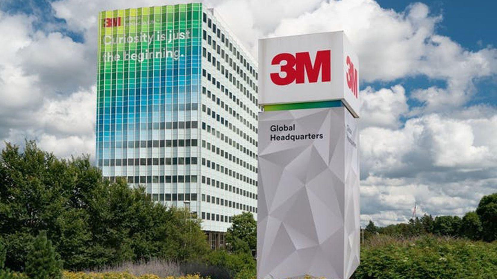 3M headquarters in Maplewood, Minn.