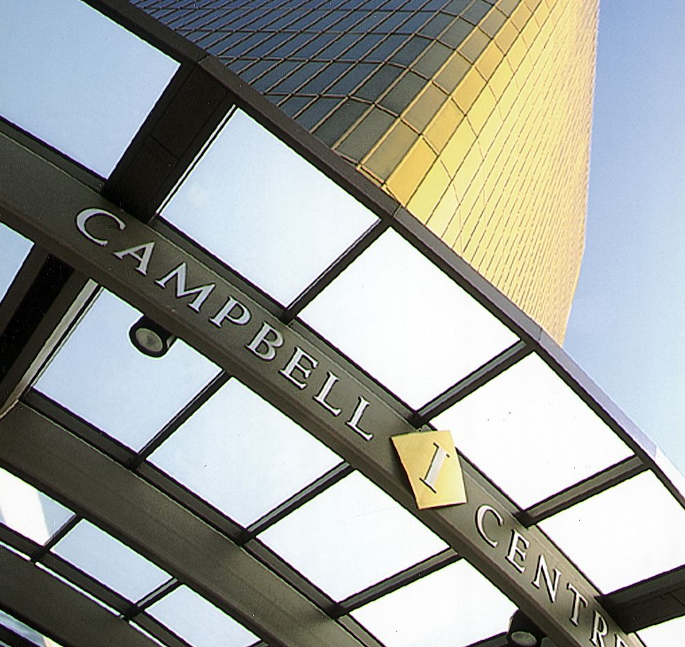 The Campbell Centre complex on U.S. Highway 75 is owned by a New York investor.
