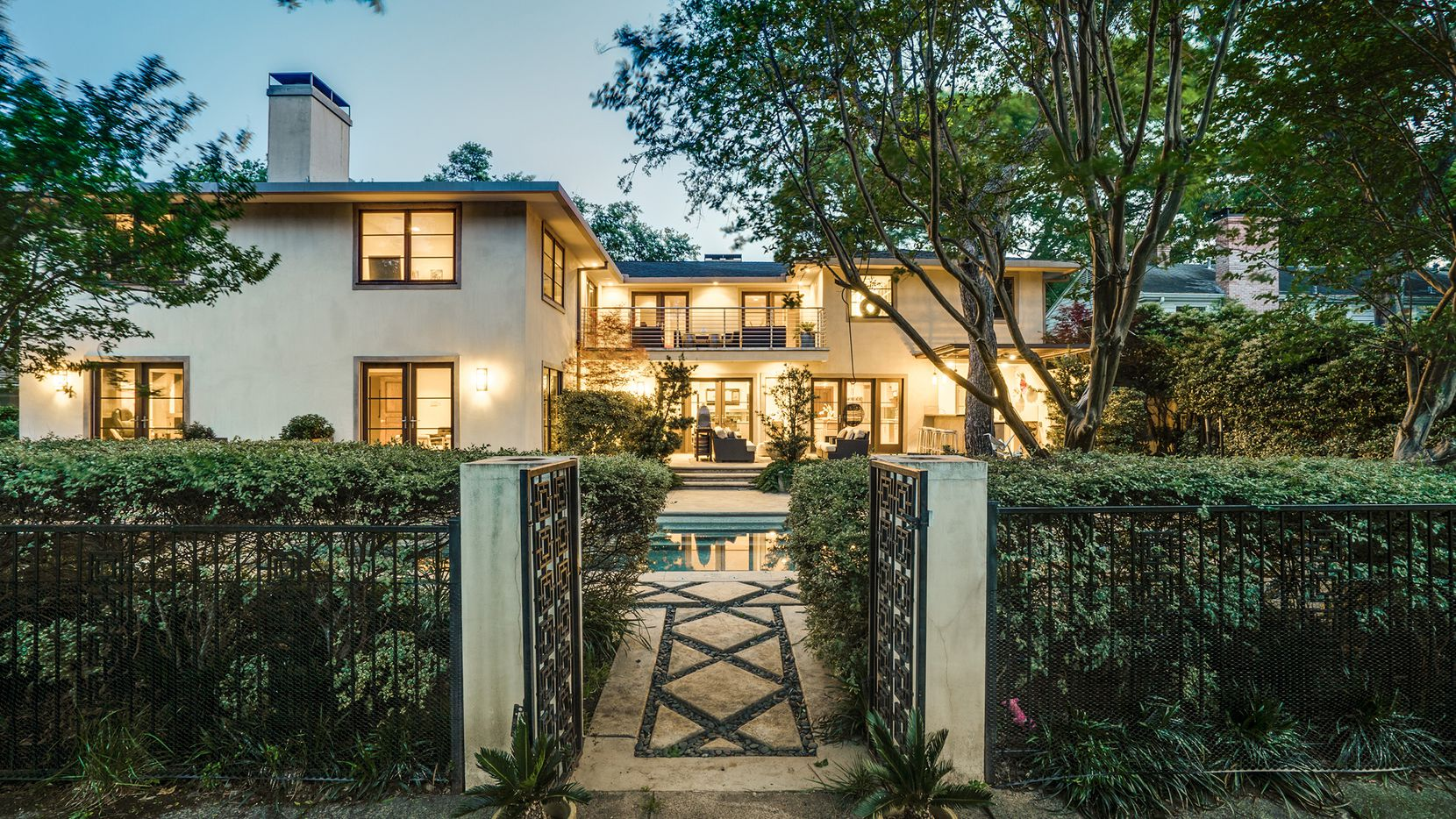 The five-bedroom home at 5539 Montrose Drive was renovated with $60,000 in updates.