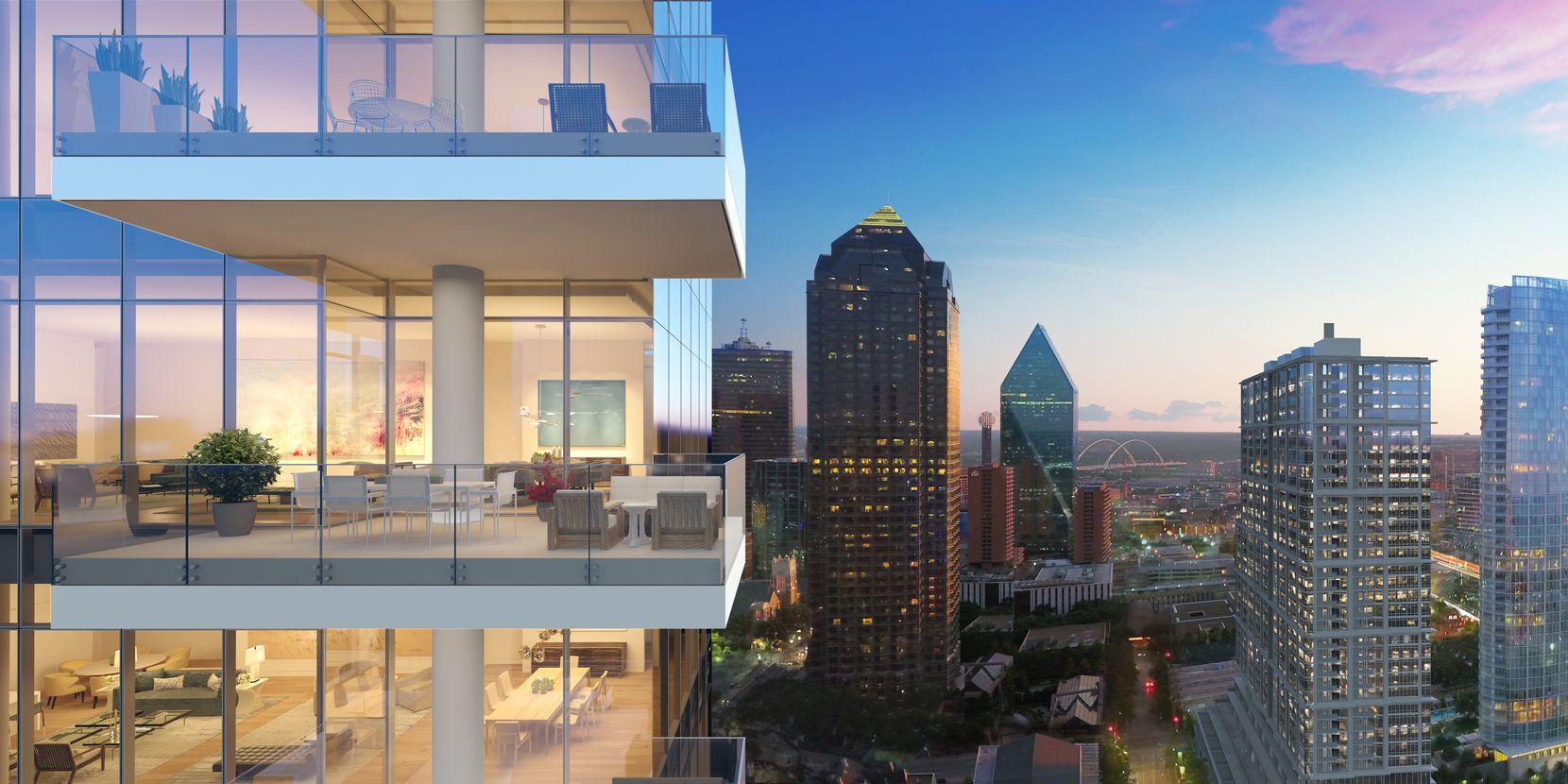 Condos in the Hall Arts Residences tower will start at around $2 million.