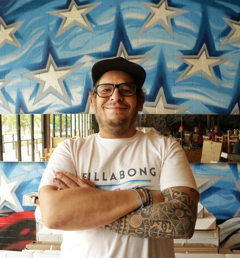 Mexican Bar Co. Cocina chef Patricio Sandoval is from Acapulco, Mexico, but is spending time in Plano while opening a new restaurant at the Shops at Willow Bend.
