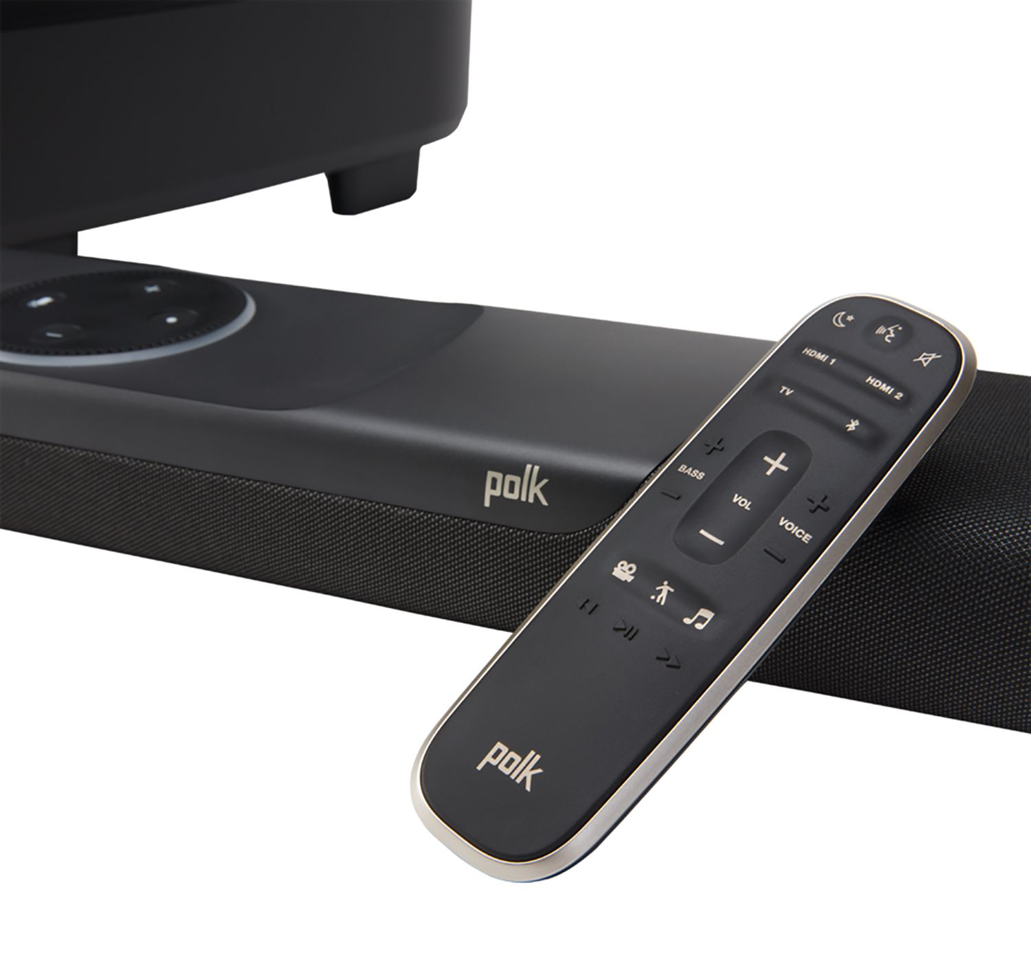 The remote for the Polk Command Bar.