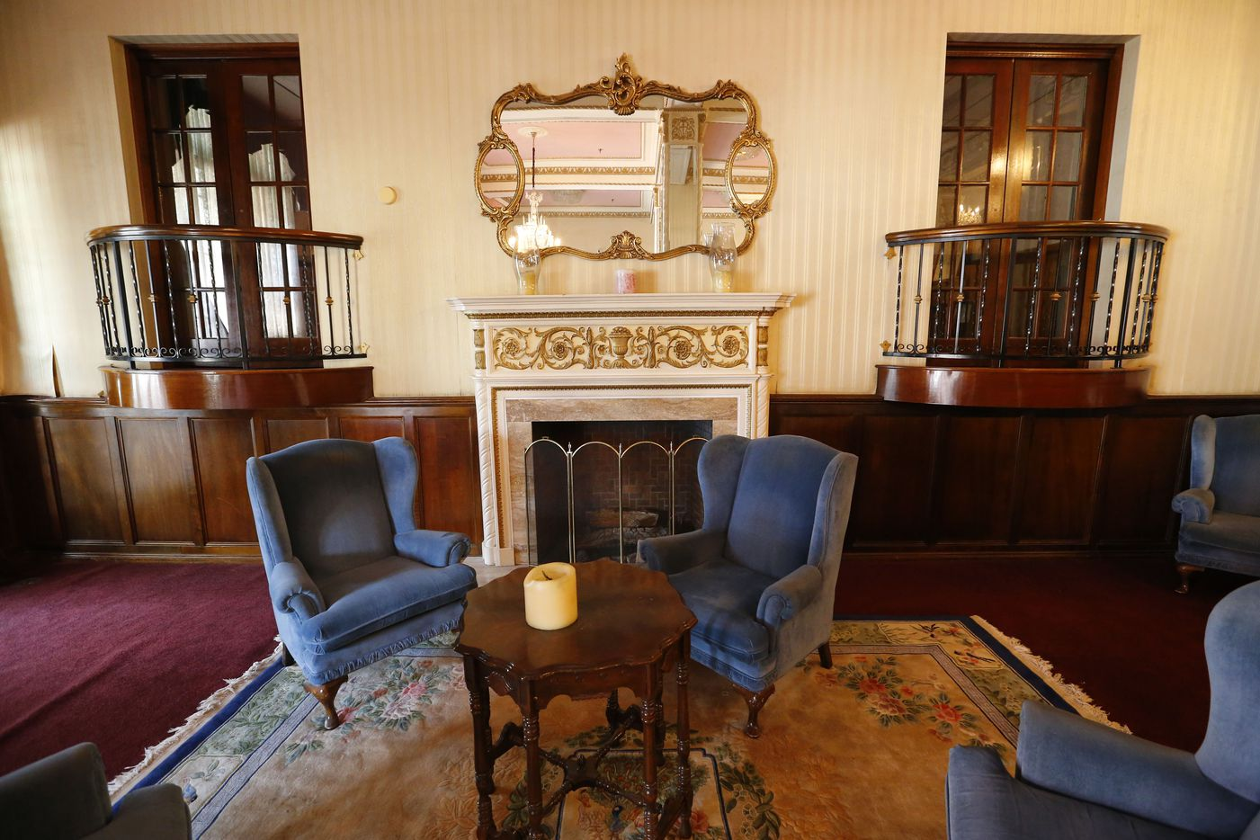 The Ambassador Hotel lobby, pictured on June 28, 2016.