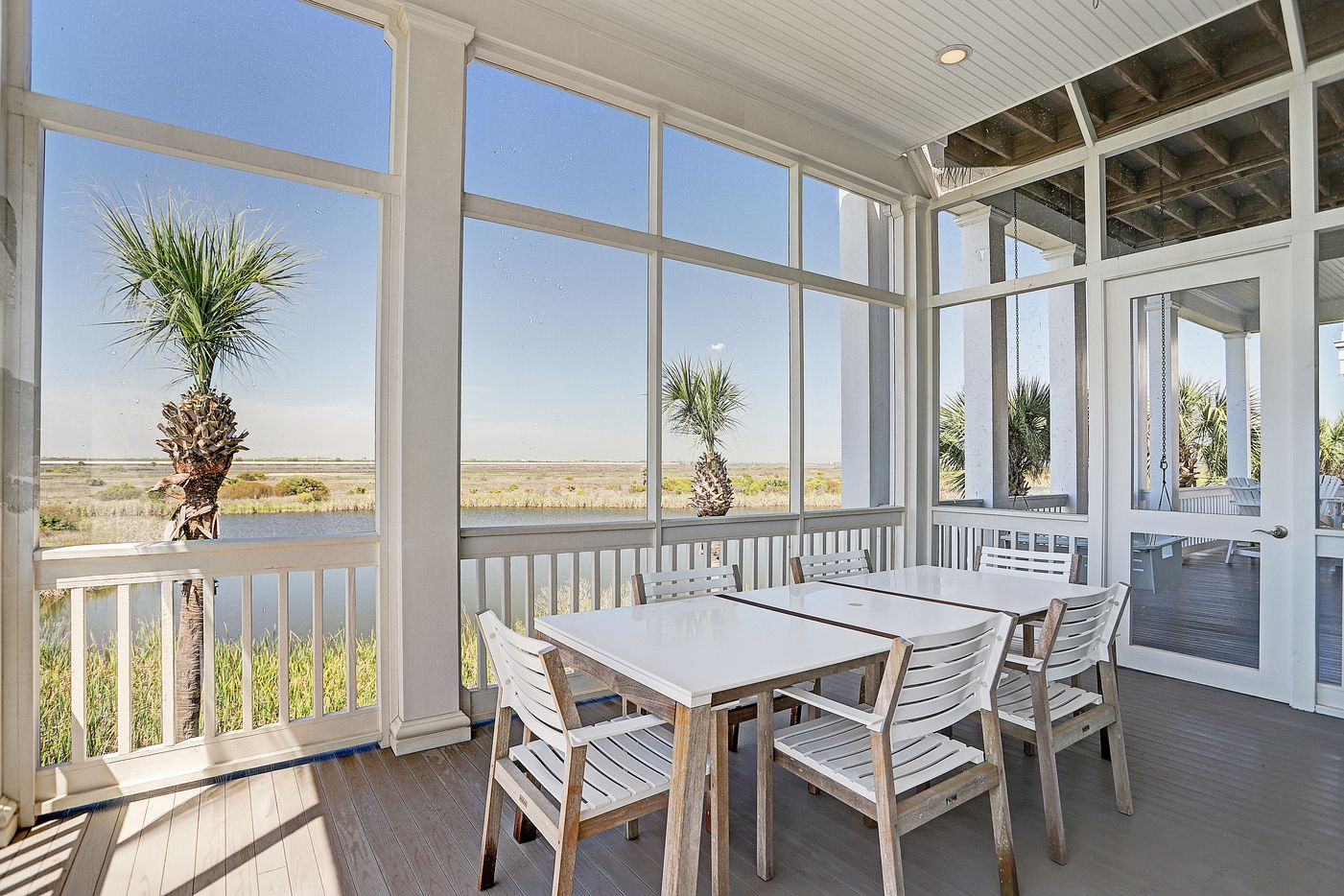 A look at the property at 1518 Beachtown Drive in Galveston, Texas.