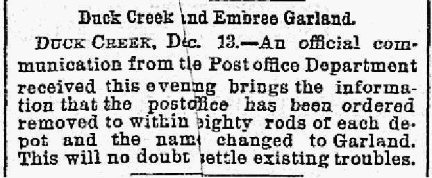 The Dallas Morning News snip was published on Dec. 14, 1887.