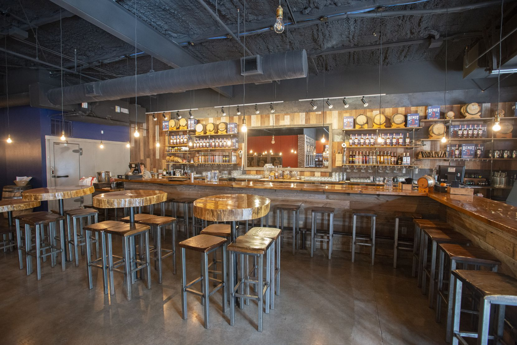 Bar area at Bendt Distilling Co. on November 13, 2019 in Lewisville, Tx. (Robert W. Hart/Special Contributor)