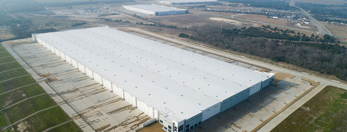 The more than 1 million square-foot warehouse is located off Cleveland Road in southern Dallas.
