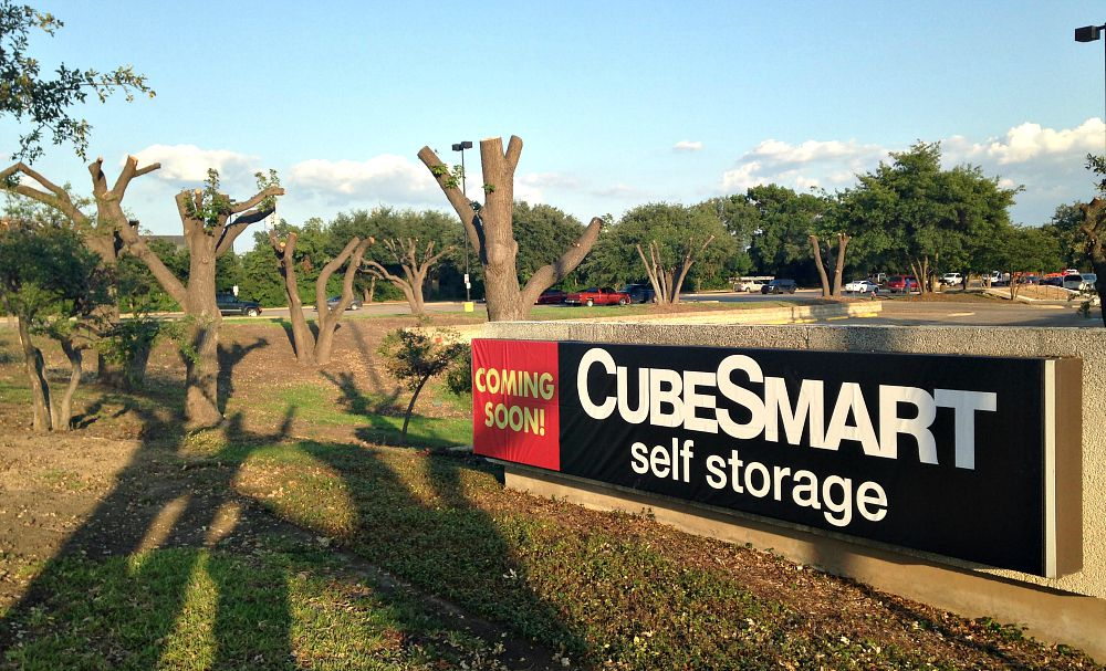 """CubeSmart says it had nothing to do with the tree """"pruning."""" OK, but what about this says """"pruning""""?"""