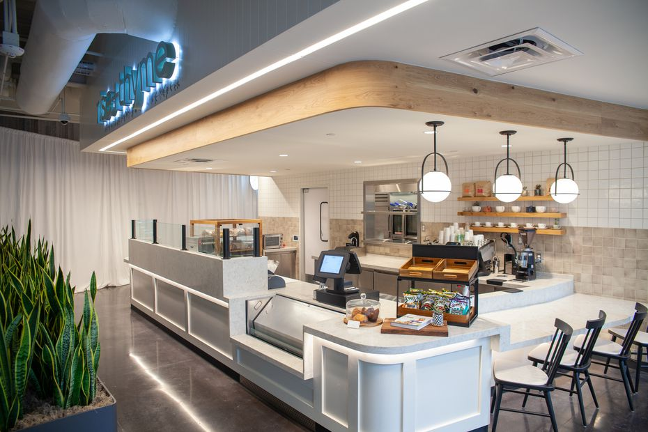 Rise & Thyme is a counter inside the food hall at AT&T Discovery District.