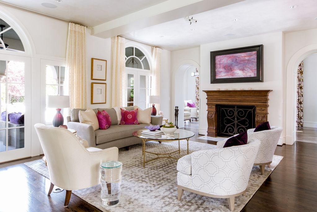 An example of the style Cindy Musgrove adds to a home.