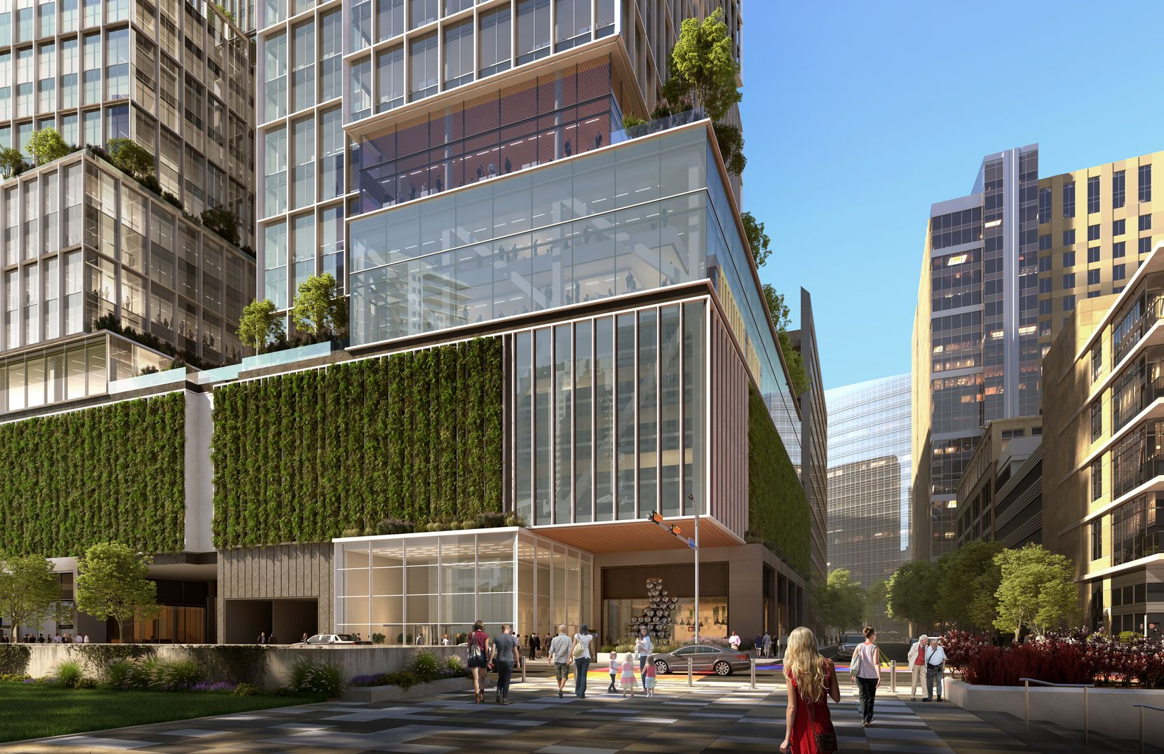 The new office tower would have about 8,000 square feet of ground floor retail.