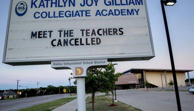 El DISD suspendió a la directora y al director asistente de la preparatoria Kathlyn Joy Gilliam durante una investigación de presuntas 'faltas académicas'. (DMN/ARCHIVO)