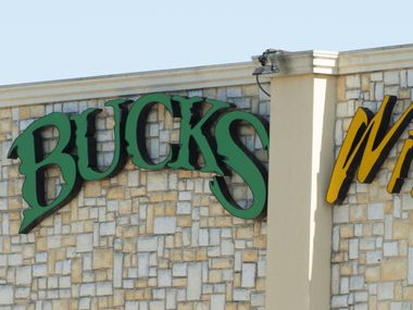 Bucks Wild strip club at 5316 Superior Parkway on May 6, 2020  in Fort Worth is suing the city to reopen during the Coronavirus pandemic. (Robert W. Hart/Special Contributor)