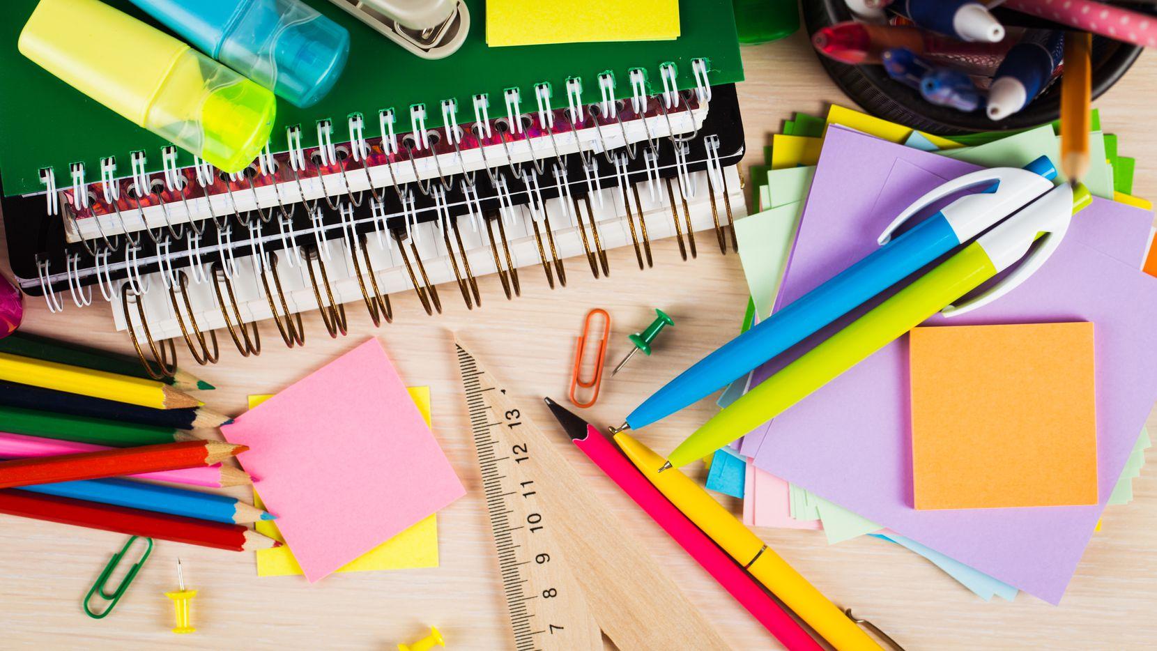Útiles escolares serán entregados este fin de semana para estudiantes del distrito de Mesquite.