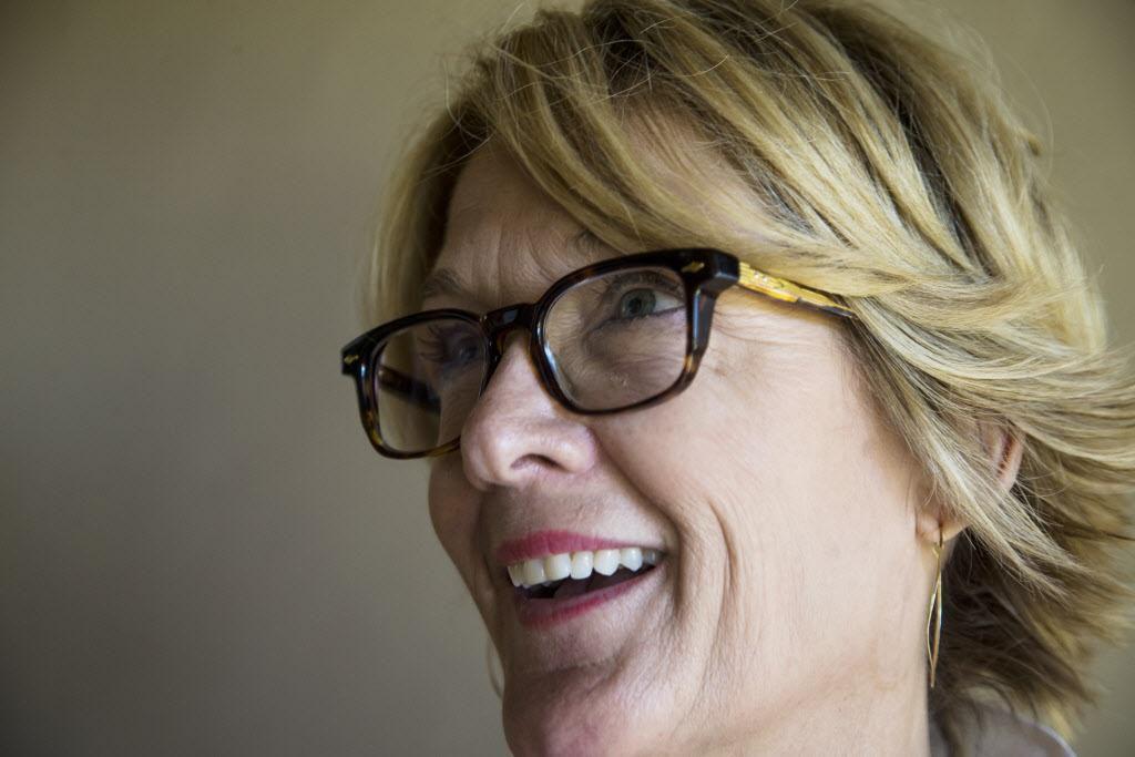 Lisa Luby Ryan está a favor de vales escolares que financian educación privada. CARLY GERACI/DMN